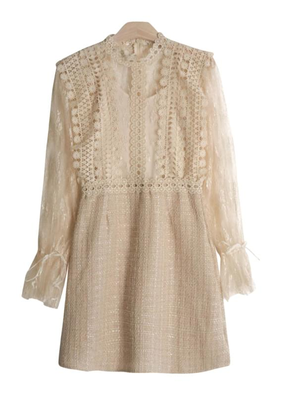 Jenny Lace Tweed Dress SET