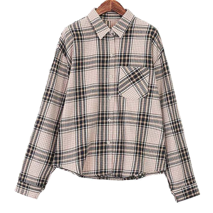 Wells check shirt