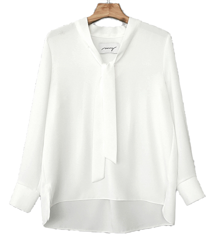 My-littleclassic / Grace-back pleat blouse