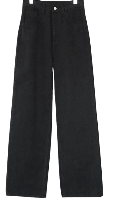 napping cotton wide pants (2colors)