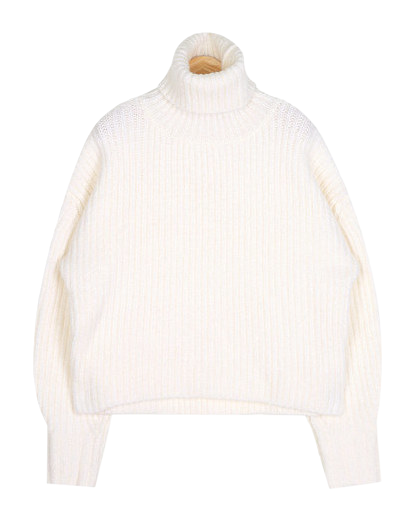 volume wool polar knit