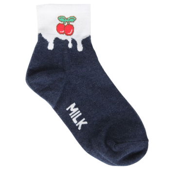 Milk oil socks