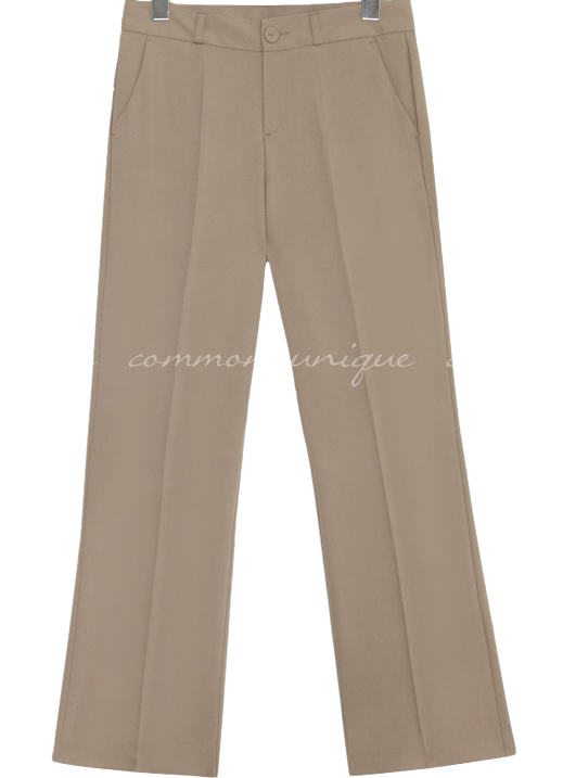 BASNIK THIN SEMI BOOTS SLACKS