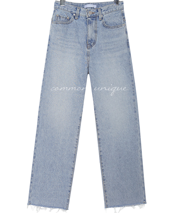 CASTLE SEMI BAGGY DENIM PANTS