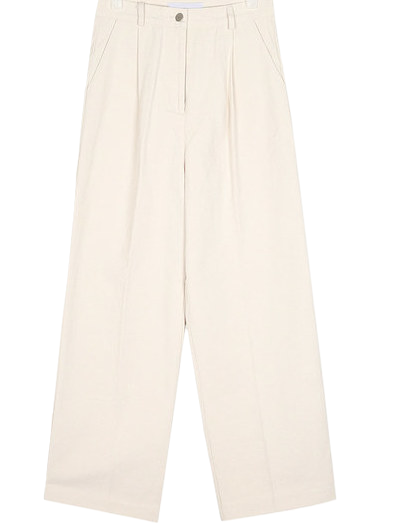 glam wide cotton pants