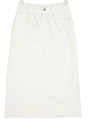 group basic midi skirt