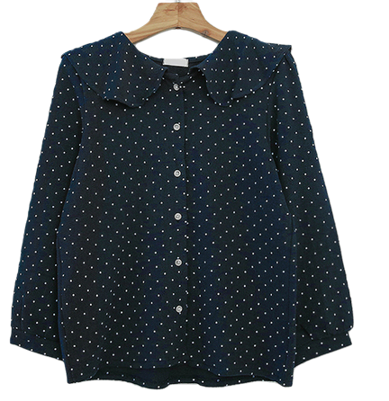Ruffle Love Dot Blouse