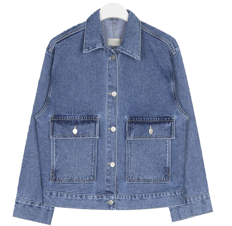 two stitch denim jacket