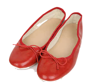 five ribbon flat shoes