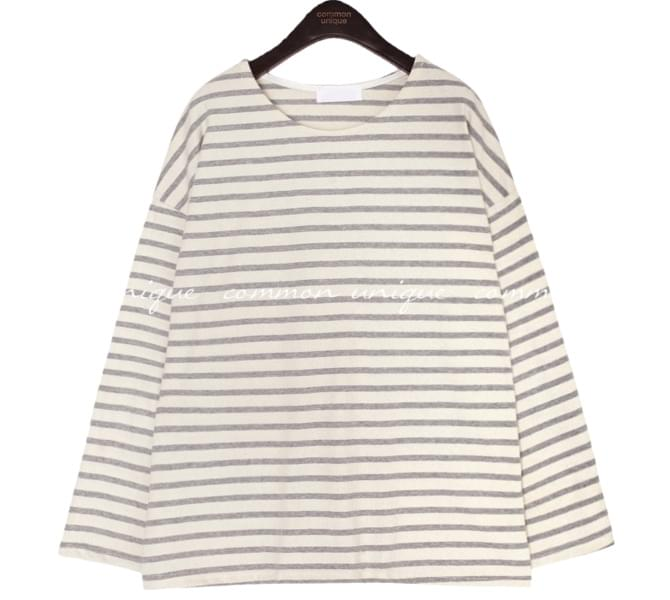 5 COLOR ONE DAY STRIPE LONG SLEEVE T