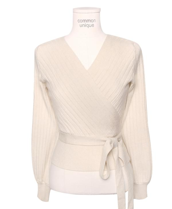 COY V NECK GOLGI WRAP KNITWITH CELEBRITY _ Irene wear