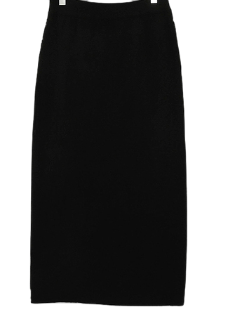 Self-produced / PBP. Elastic knit skirt