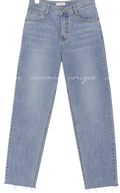 BOUN WASHING BAGGY DENIM PANTS