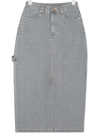 more unique denim skirt