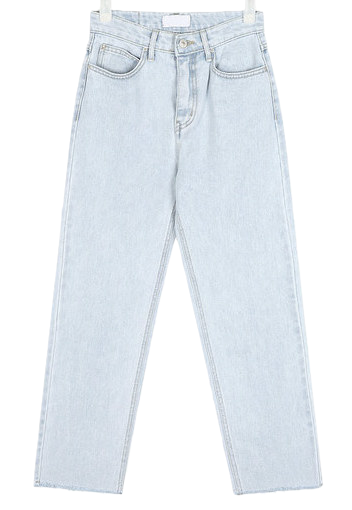 code light color denim pants