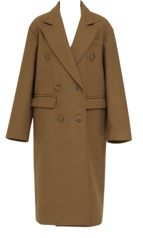 Saint over double coat_S (size : free)
