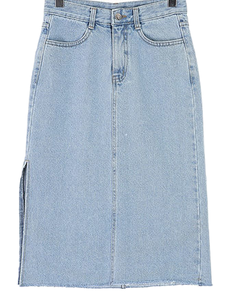 Nickie denim skirt
