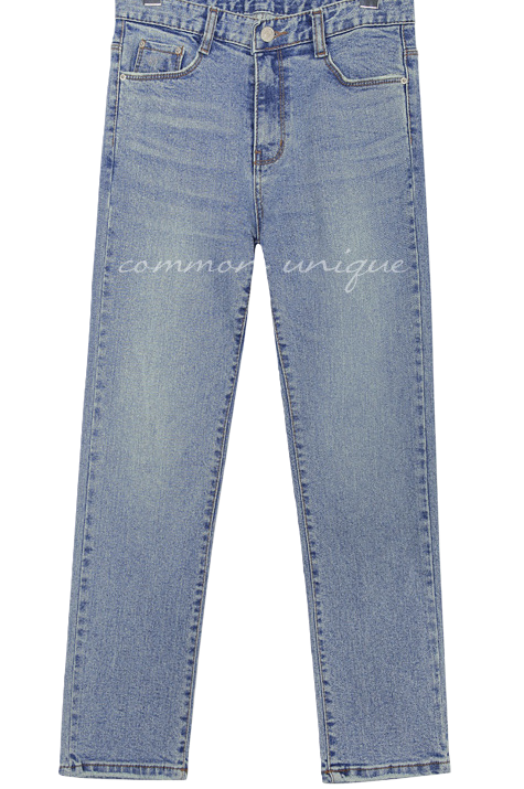 RENGO STRAIGHT DENIM PANTS