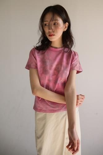 color dyeing mini t-shirt (3colors)