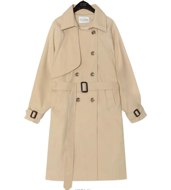ACE RAGLAN TRENCH COAT