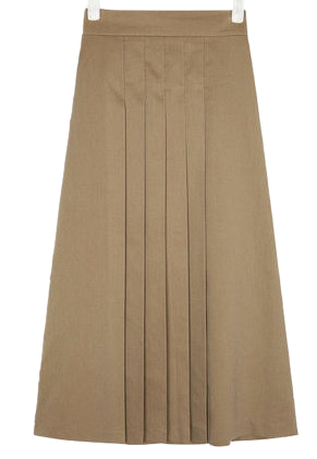 butter pleats skirt