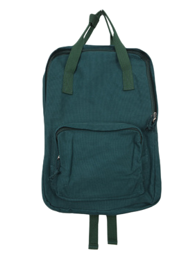 Square simple backpack