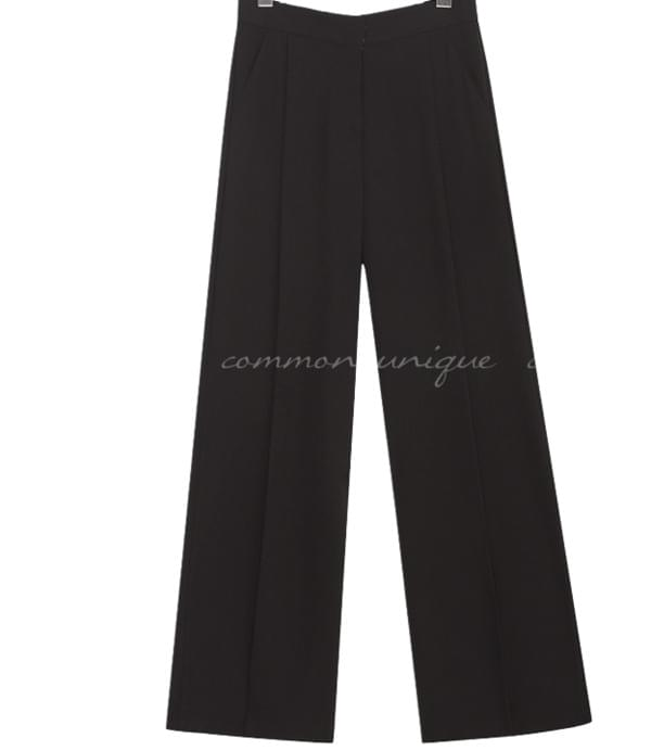ROAD PINTUCK WIDE LONG SLACKS
