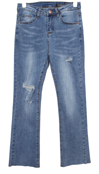 Denim knee pendulum P
