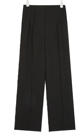 holic pintuck long slacks