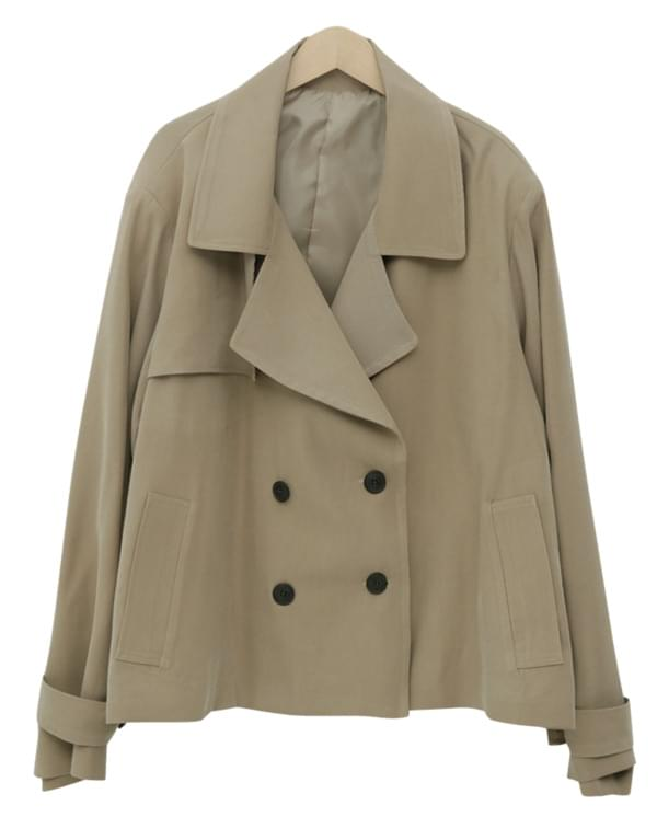 Made_outer-132_half trench jacket_S