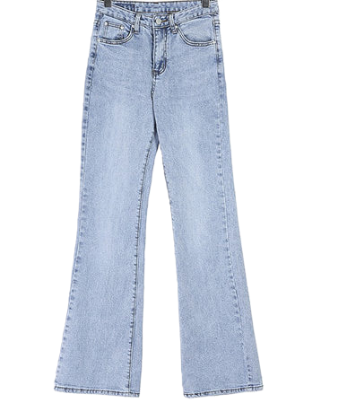 Lounge back denim pants