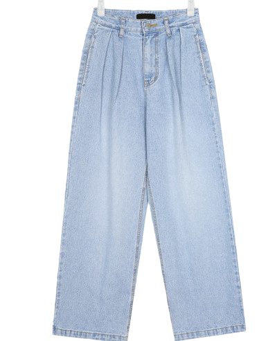 snuper pintuck wide pants