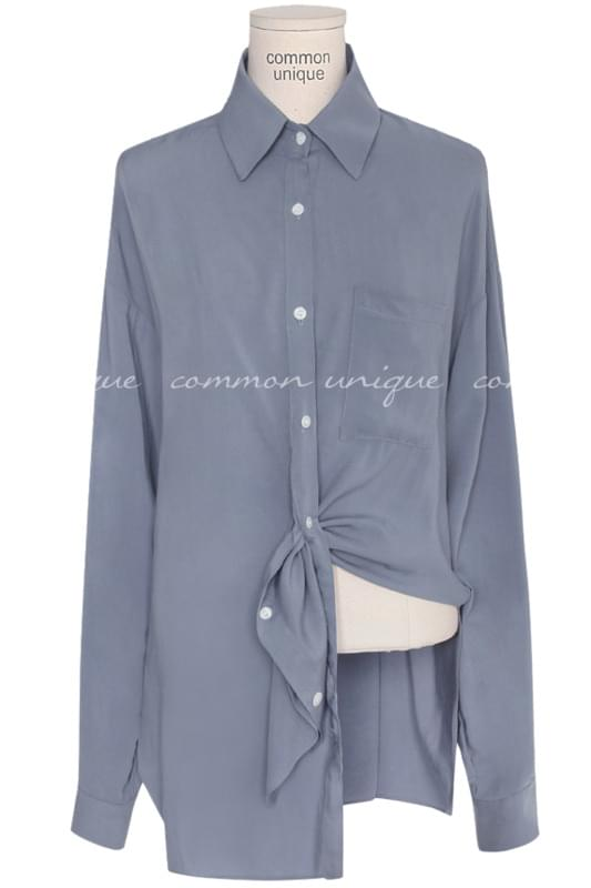DOVIL RAYON LOOSE TWIST BLOUSE