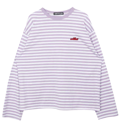 Stripe Logo Point Top