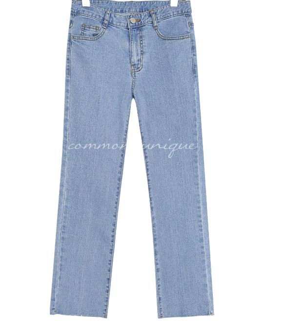 RALEIGH STRAIGHT DENIM PANTS