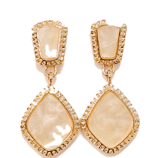 MARBLE STAGE DROP EARRING