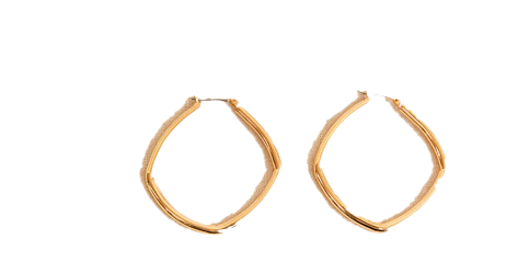 CONT SIMPLE SQUARE EARRING