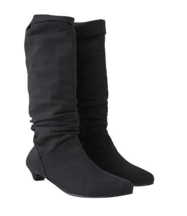 canvas crease boots (2colors)