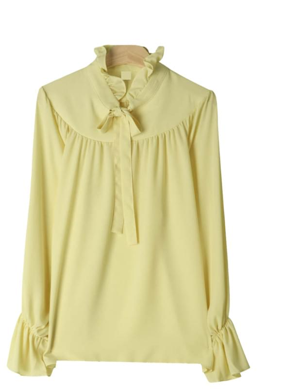 Daisy ribbon blouse