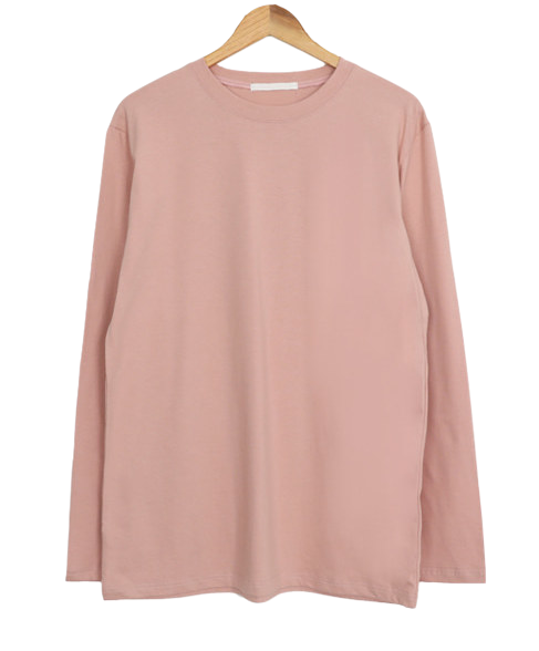 Over Single Long Sleeve Round Tee