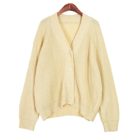 Department V neck cardigan