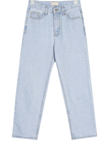 original stright denim pants
