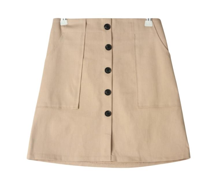 Burton button skirt