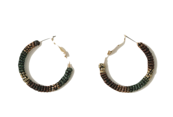 gradation ring earrings