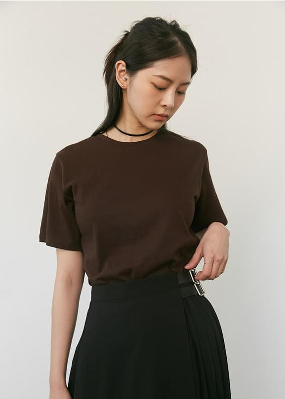 Simple Round T-shirt