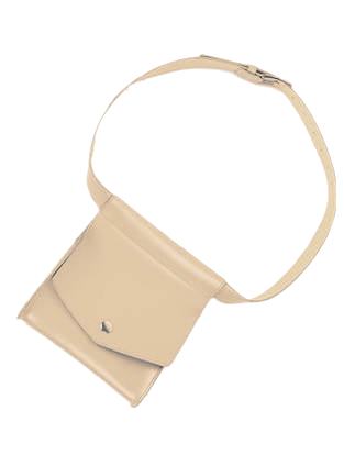 pot square belt bag