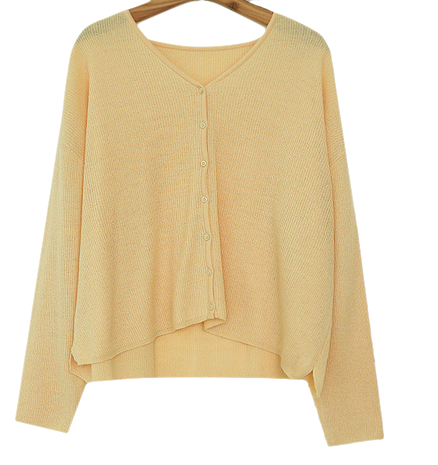 Planning Specials / Creamy Lingerie Knit & Cardigan
