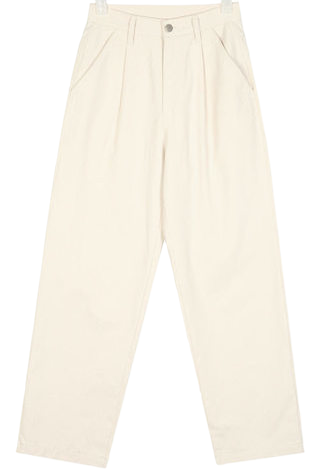 FRESH A pintuck cotton pants