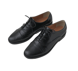 mannish crude oxford shoes (2colors)