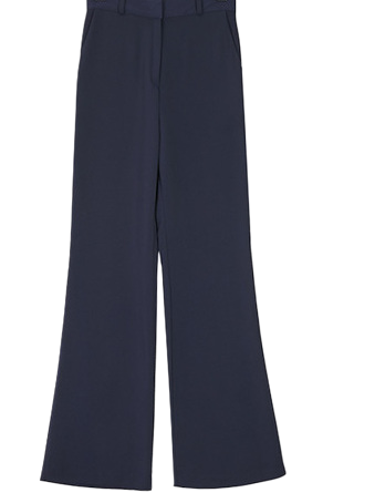 Yale boots cut slacks